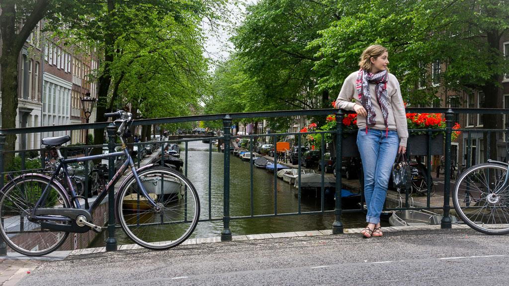 Amsterdam is so beautiful - The Two Drifters www.thetwodrifters.net