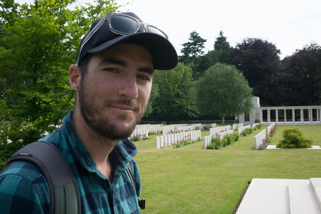 Scott in Ypres www.thetwodrifters.net