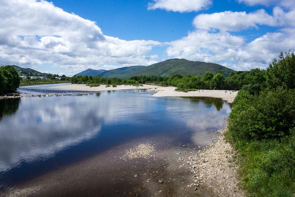The beautiful River Lochy near Fort William, Scotland www.thetwodrifters.net