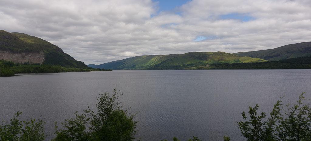 Loch Lochy in Scotland www.thetwodrifters.net