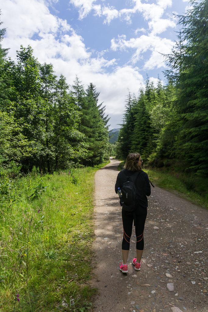 Walks in Glen Nevis Two Drifters Wandering in Scotland