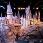 Harry Potter Studio Tour, The Two Drifters, www.thetwodrifters.net Hogwarts - model