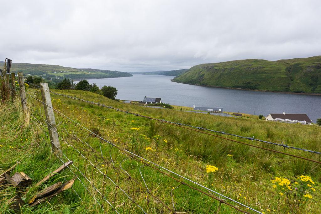 Isle of Skye The Two Drifters Driving through the Isle of Skye