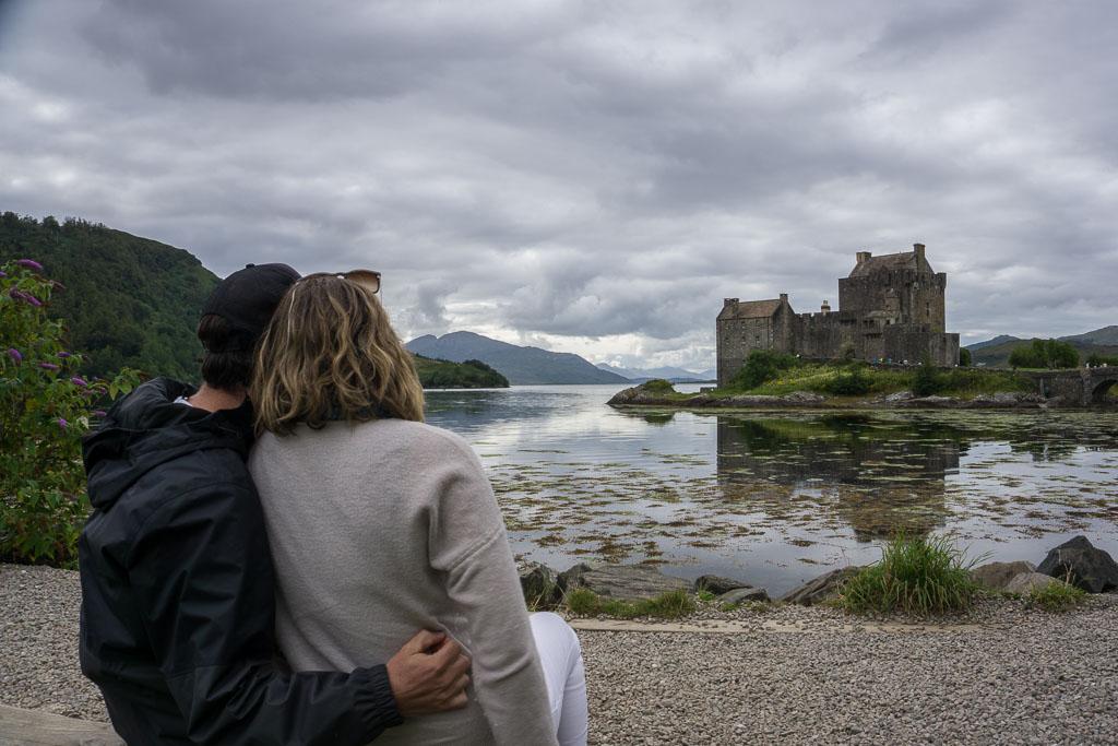 Isle of Skye The Two Drifters Admiring Eileen Donan Castle