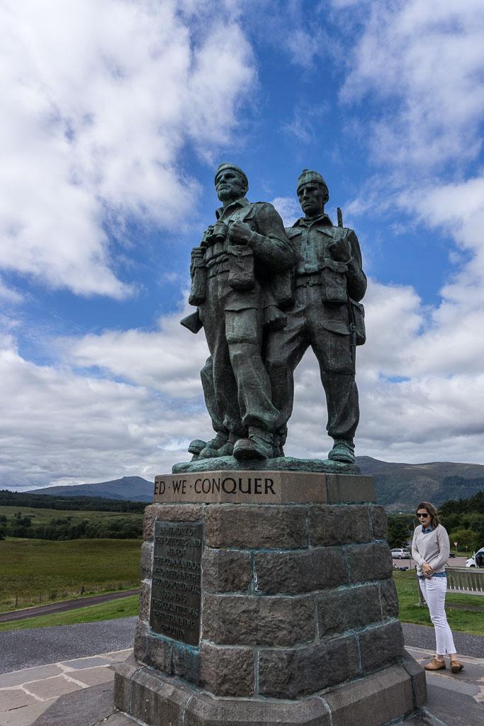Isle of Skye The Two Drifters Visit the Commando's Memorial at Spean Bridge