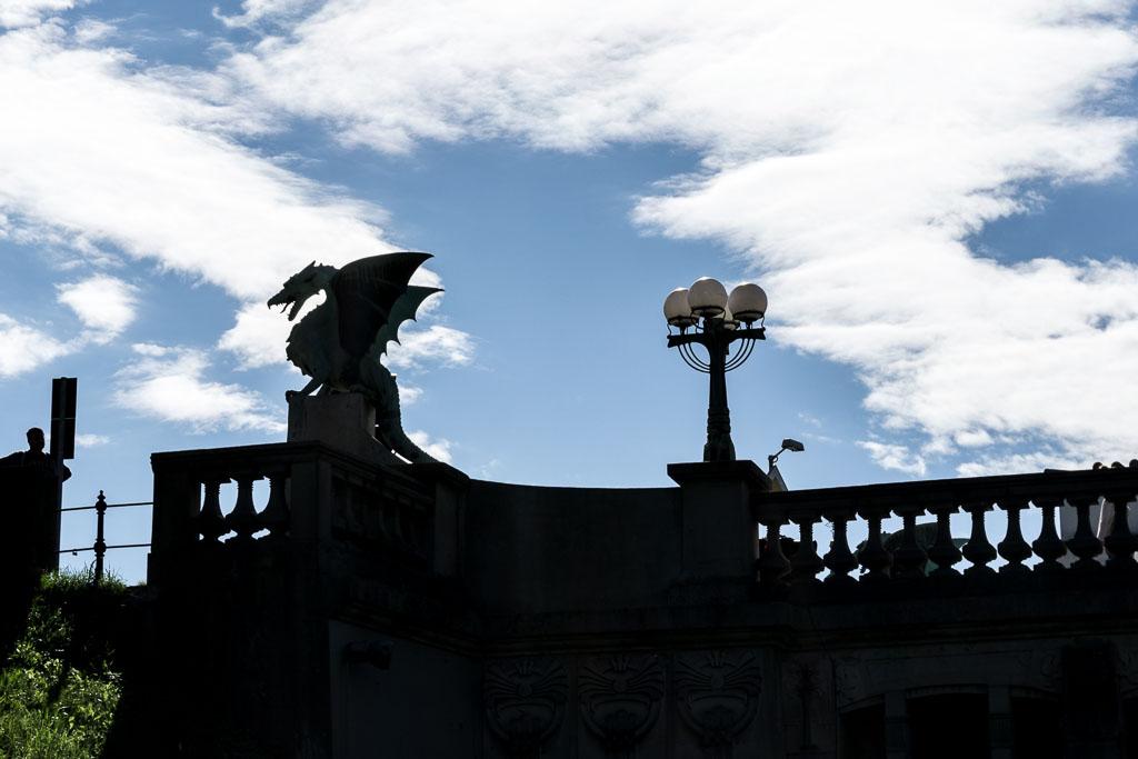Dragon Bridge - Ljubljana, Slovenia, The Two Drifters www.thetwodrifters.net