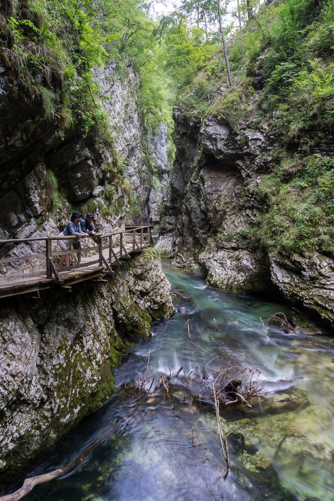 Triglav National Park, The Two Drifters, Admiring Vintgar Gorge, www.thetwodrifters.net