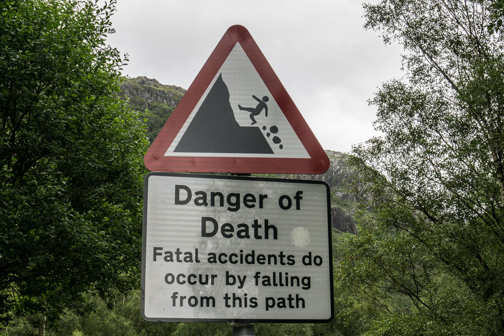 Visit from Mum & Dad The Two Drifters Danger of Death Sign