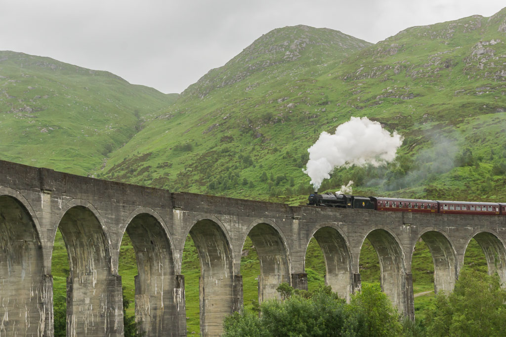 Visit from Mum & Dad The Two Drifters Glenfinnan