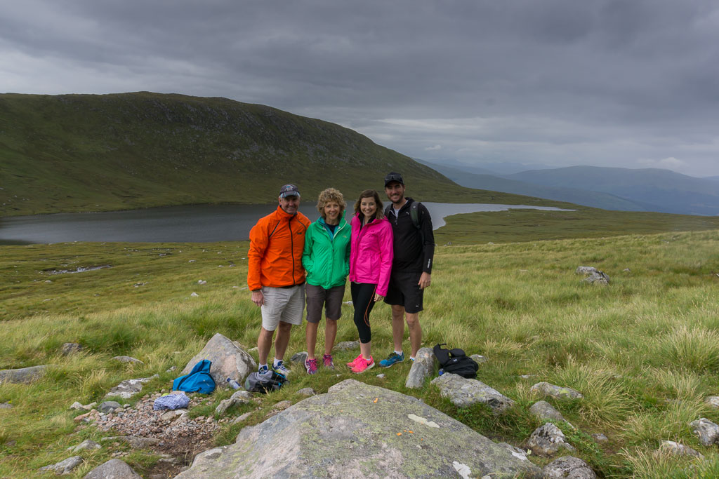 Visit from Mum & Dad The Two Drifters The Lake When Climbing Ben Nevis