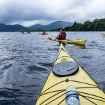 West Highland Way, The Two Drifters, www.thetwodrifters.net Kayaking Loch Lomond, Scotland
