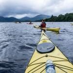 West Highland Way, The Two Drifters, www.thetwodrifters.net Kayaking Loch Lomond, Scotland