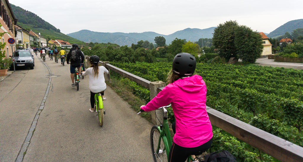 Beautiful place to cruise, Bike and Wine Tour Wachau Valley, The Two Drifters, www.thetwodrifters.net
