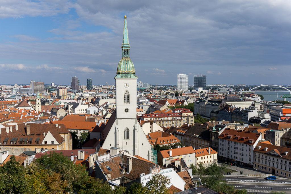 Bratislava, The Two Drifters, www.thetwodrifters.net View of Bratislava