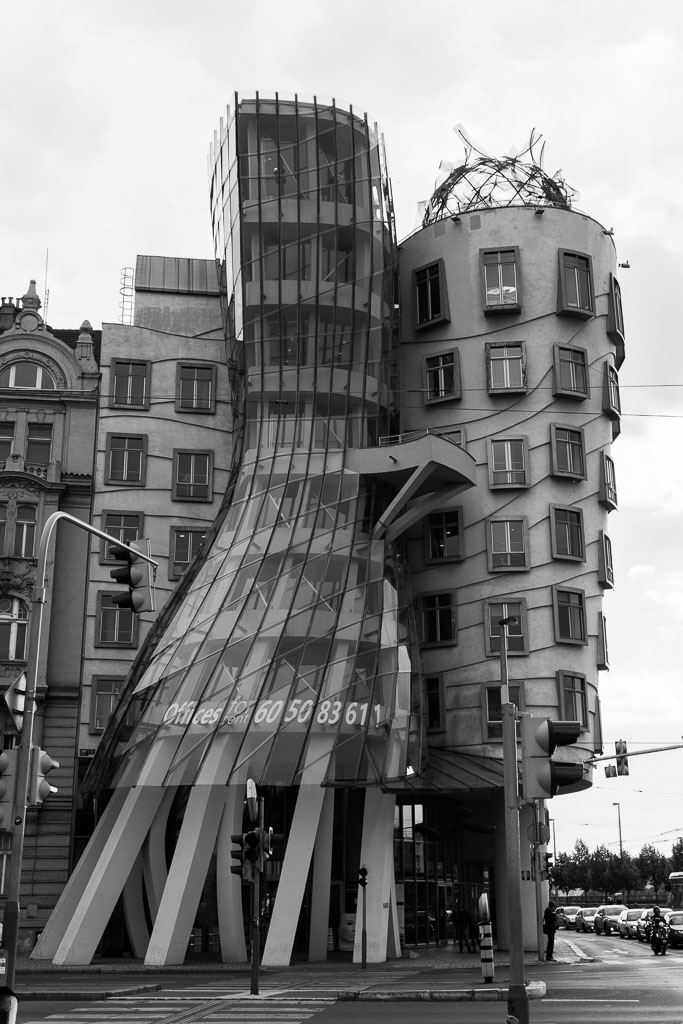 Dancing House, Prague, The Two Drifters, www.thetwodrifters.net