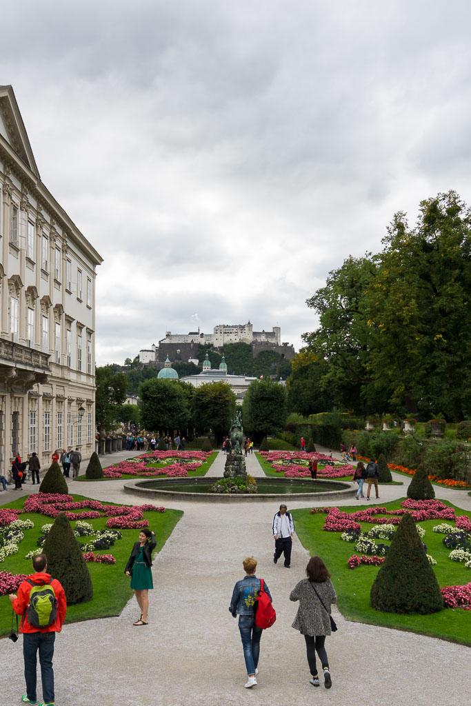 Mirabellplatz Gardens, Salzburg, The Two Drifters, www.thetwodrifters.net