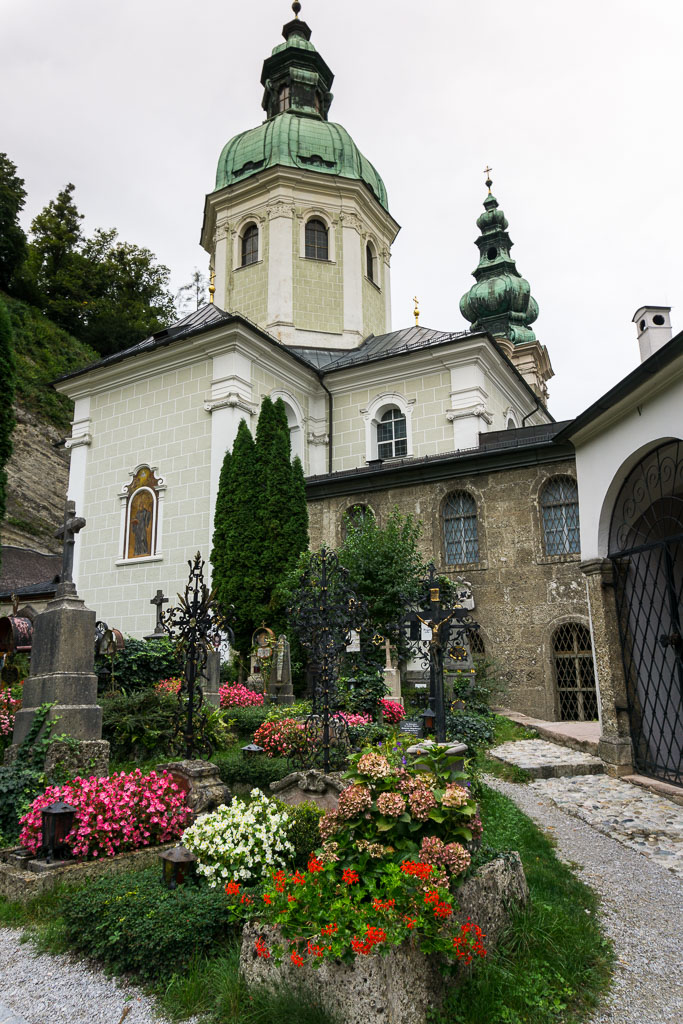 St Peter's Cemetery, Salzburg, The Two Drifters, www.thetwodrifters.net