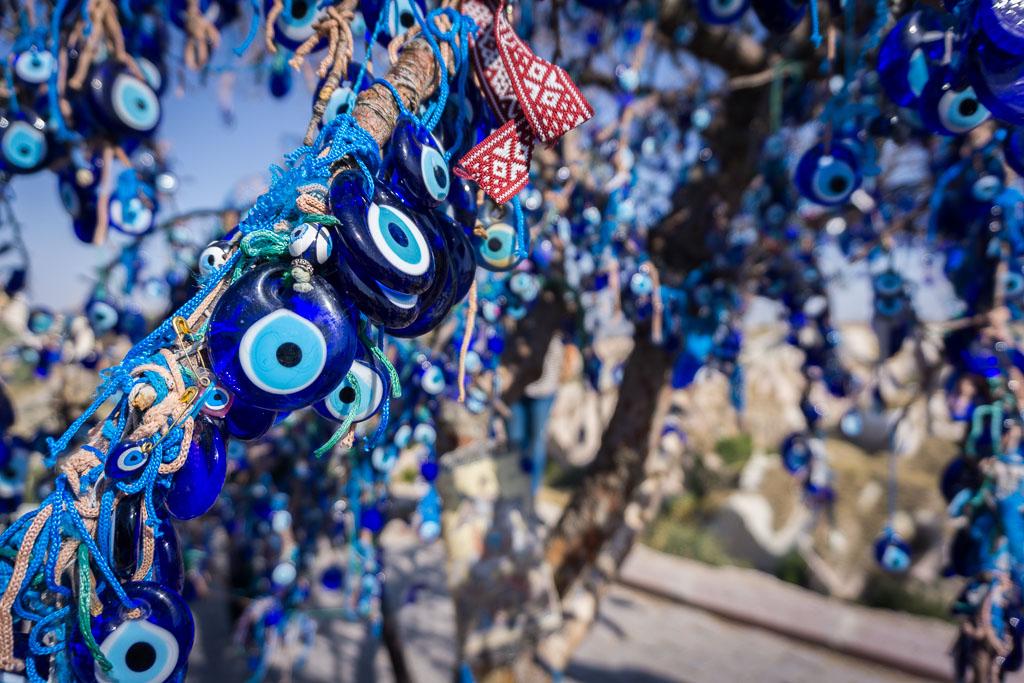 Evil eye tree, Cappadocia, The Two Drifters, www.thetwodrifters.net