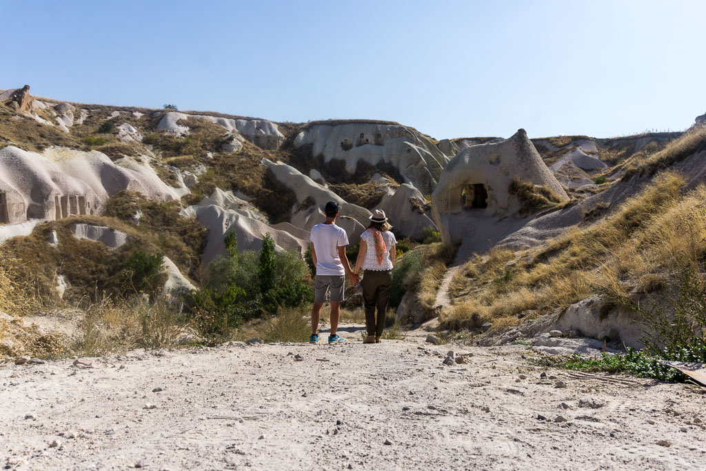Admiring Pigeon Valley, Cappadocia, The Two Drifters, www.thetwodrifters.net