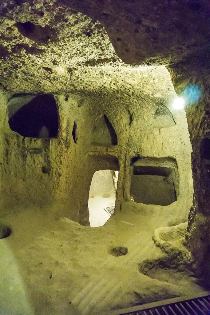 Underground city, Cappadocia, The Two Drifters, www.thetwodrifters.net