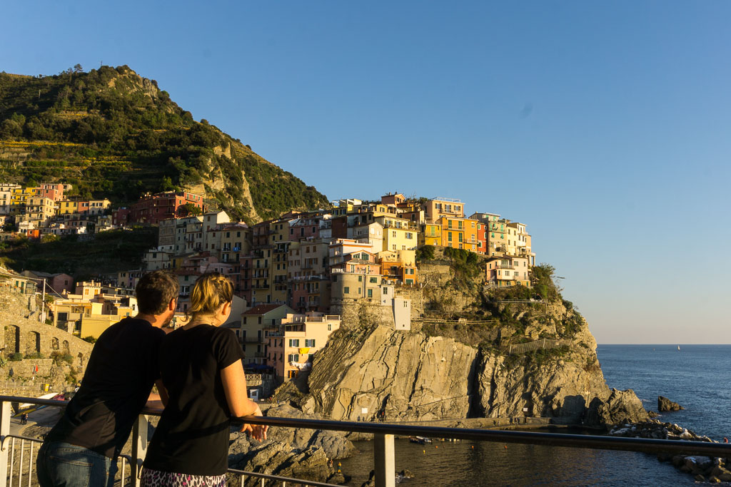 Manarola, Us, Cinque Terre, The Two Drifters, www.thetwodrifters.net