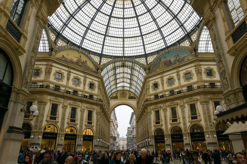 Galleria Vittorio Emanuele II, Milan, The Two Drifters, www.thetwodrifters.net