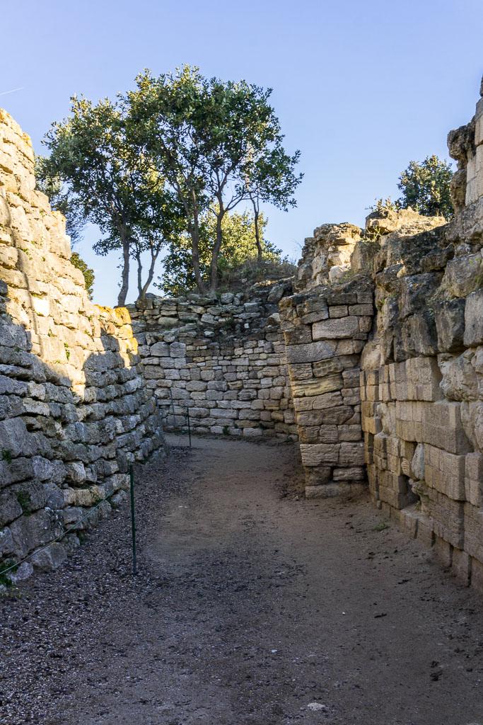 The walls of Troy, Troy, The Two Drifters, www.thetwodrifters.net