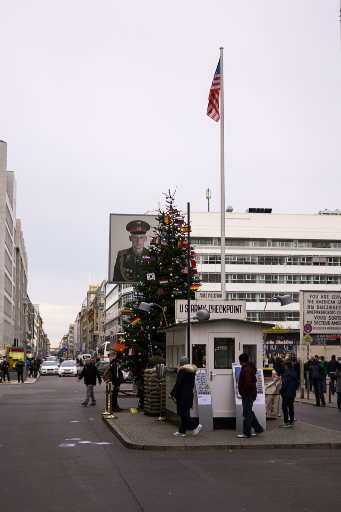 Checkpoint Charlie, Berlin, The Two Drifters, www.thetwodrifters.net
