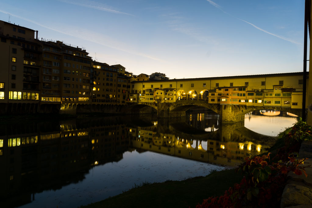 Beautiful Ponte Vecchio, Florence, The Two Drifters, www.thetwodrifters.net