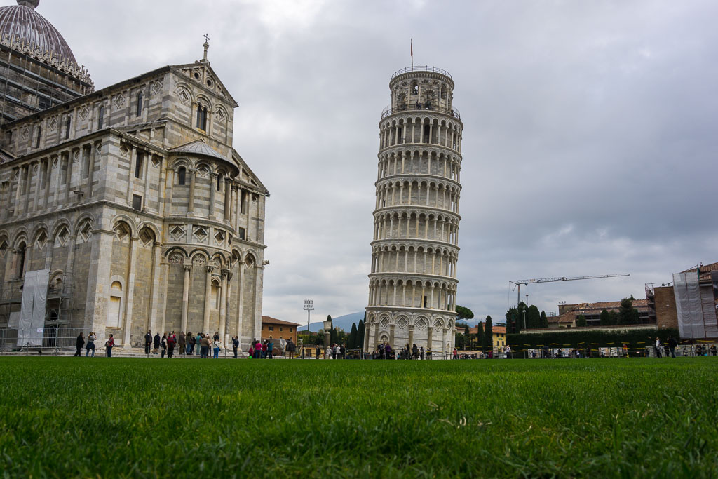 Leaning Tower and Duomo, Pisa, The Two Drifters, www.thetwodrifters.net