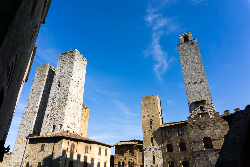 Ancient skyscrapers, San Gimignano, The Two Drifters, www.thetwodrifters.net