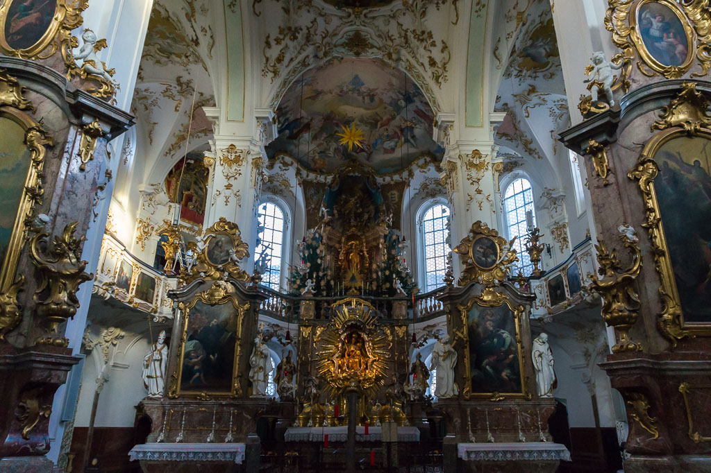 Baroque Church, Munich, The Two Drifters, www.thetwodrifters.net