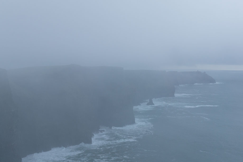 West Coast Of Ireland, The Two Drifters, Bad weather, Cliffs of Moher