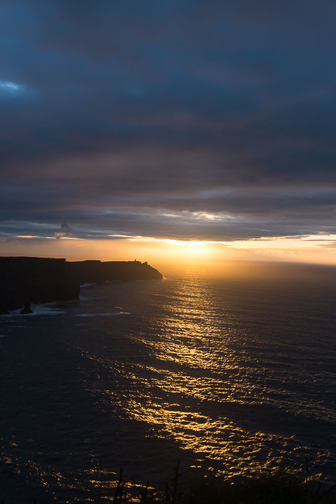 West Coast Of Ireland, The Two Drifters, Cliffs Of Moher Sunset