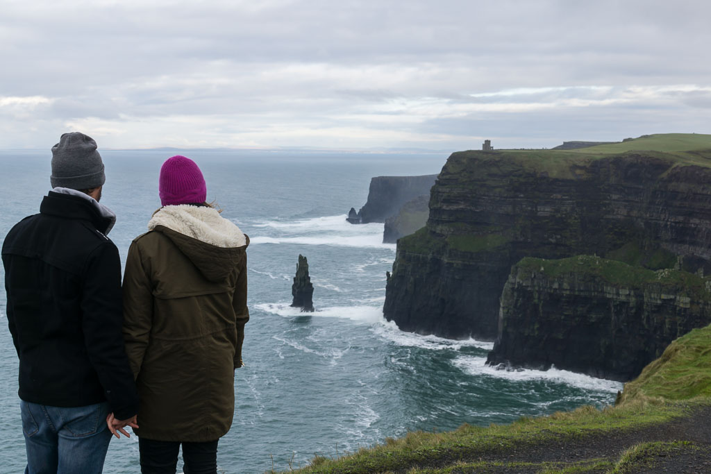 West Coast Of Ireland, The Two Drifters, Cliffs of Moher,