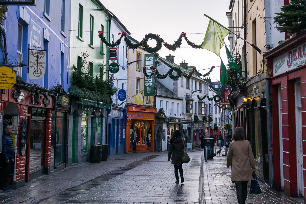 West Coast Of Ireland, The Two Drifters, Colourful Galway Streets